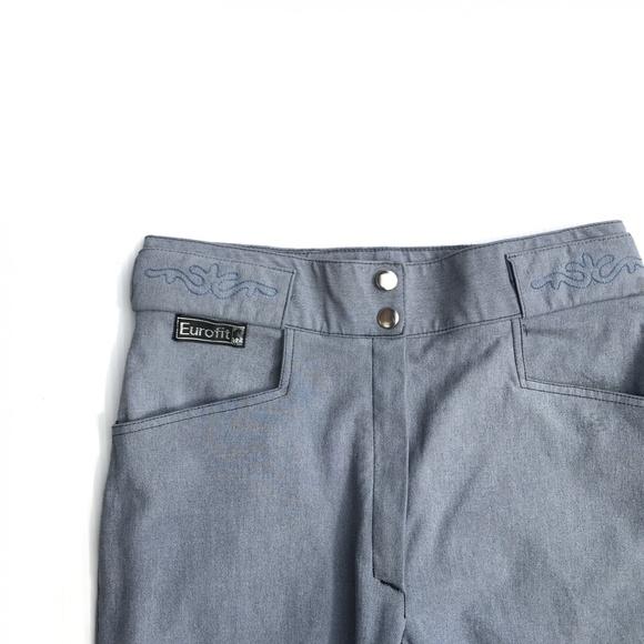 Eurofit Pants - Eurofit Leather Full Seat Horse Riding Pants :219